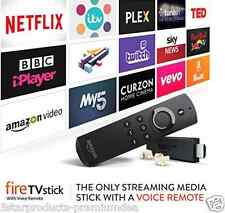 BRAND NEW AMAZON FIRE TV STICK MEDIA PLAYER ALEXA VOICE REMOTE FIRETV STREAMER