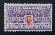 nystamps British New Zealand Stamp # E1 Mint OG H $60     S17y3074