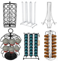Coffee Capsules Holder Stand Dispenser Rack Storage For NESPRESSO Dolce Gusto
