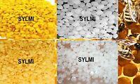 PURE Organic BEESWAX Yellow/White PASTILLES BEADS PELLET 1 2 4 8oz 16oz 32 oz Lb