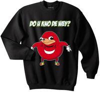Ugandan Knuckles sweatshirt, meme sweatshirt, Do you know the way sweatshirt