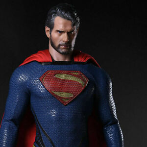 """1/6 Superman Henry Cavill Head Carving Sculpt Model For 12"""" Male Figure Body"""