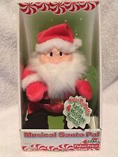 New Fisher Price Musical Santa Pal - Holiday Doll for Kids / Decorations Rare