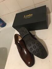 Loake STYLE LAST 3625/F Conquer Brown Brogues UK 9 EURO 43