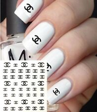 ❤️NOUVEAU 45 STICKERS LOGO MARQUE BIJOUX ONGLES WATER DECALS MANUCURE NAIL ART