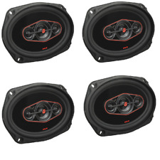 2 pair Cerwin Vega H7694 6x9″ HED Series 4-way Coaxial Car Speakers 440 WATT MAX