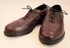 New Balance American Classics Walking Wave Brown Oxford Brogue Wingtip Size 7.5