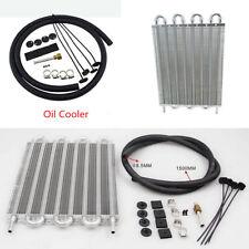 Universal Car Truck 8 Row Radiator Aluminum Trans Transmission Oil Cooler+Hose