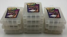 (10) Trading Card Gaming Storage Boxes Flip Up Card Cases Holds 32 Cards Each