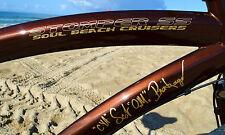 Fat Tire Beach Cruiser  OM SCOT BREIHAUPT Fat Bike SOUL STOMPER 1 speed OMOFBMX