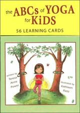The ABCs of Yoga for Kids 56 Learning Cards by Teresa Anne Power 9780982258736