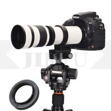 420-800mm F/8.3 HD Super Telephoto Lens For Nikon D90 D3000 D3100 D3200 D3300