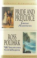 Austen Pride And Prejudice / Winston Graham Ross Poldark 4 Cassette Audio Book