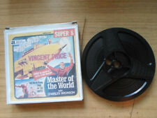 Super 8mm sound 1X200 MASTER OF THE WORLD. Vincent Price sci fi.