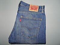 """LEVIS 508 Mens Jeans Slim Tapered Fit Blue Denim SIZE W31 L34 Waist 31"""" Leg 34"""""""