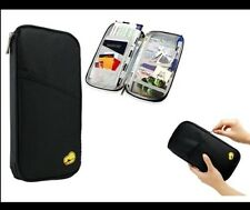 iMounTEK Passport Wallet and Bag, Polyster Material, Twelve Pockets, Black