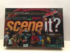 SPORTS SCENE IT? DVD GAME ESPN NFL NBA NHL MLB NEW IN FACTORY SEALED BOX
