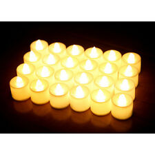 12 Pcs LED Tea Lights Flickering FlameLess Candles Warm White