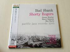 BUD SHANK SHORTY ROGERS BILL PERKINS AUDIOPHILE JAPAN MINI LP CD TOCJ-9333