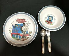 Cups, Dishes & Utensils 1992 Vintage Thomas The Tank Train Melamine Plastic Bowl Allcroft By Eden