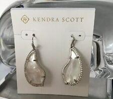 Kendra Scott Earrings Tulip Silver/ mother of pearl New!