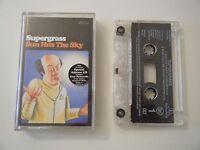 SUPERGRASS SUN HITS THE SKY CASSETTE TAPE SINGLE EMI PARLOPHONE UK 1997