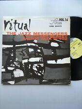 LP RITUAL-THE JAZZ MESSENGERS feat ART BLAKEY - SWING LDM 30079  - FRENCH PRESS