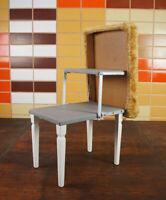 60er Vintage Hocker Retro Sitzhocker Klapptritt Pouf Leiterhocker Tritt 70er