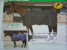 JHL lightweigt stable rug, 6ft, black/ red binding, new in zip bag, SALE price,