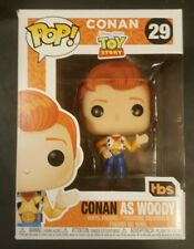 FUNKO POP DISNEY PIXAR TOY STORY CONAN AS WOODY #29 see pictures and description