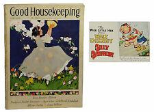 DONALD DUCK First Appearance Good Housekeeping June 1934  Wise Little Hen Disney