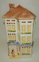 "Vintage Avon Townhouse Canister Collection Cookie Jar or Large 12"" Canister"