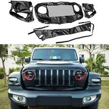 Front End Grille Cover  for 2018-2020 Jeep Wrangler JL & Gladiator JT