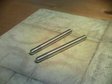 motorcycle/motorbike studs, dowels, inserts made up, stainless, alloy,one offs