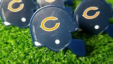 Chicago Bears Cupcake Toppers Rings Birthday Cake NFL Lot of 12 Mini Helmets