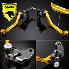 For Suzuki DRZ400S/SM 2000-2017 MZS Pivot Clutch Brake Levers DR250R 1996-2000