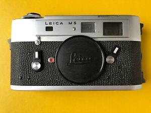 Leica M5 Gehäuse.