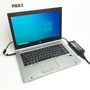 "HP ELITEBOOK 8470P 14"" LAPTOP i7 3740QM 2.70GHZ 8GB 500GB HDD WIN 10 PRO H883"