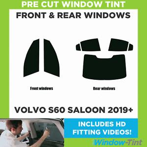 Pre Cut Window Tint - Volvo S60 4-door Berlina 2019 Full Kit