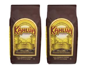 2 Bag Kahlua Original Gourmet Ground Coffee Cafe 12oz 100% Arabica 340g New