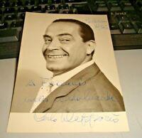 CARLO DAPPORTO FG NV dedica ed autografo originali a penna PALERMO 1955