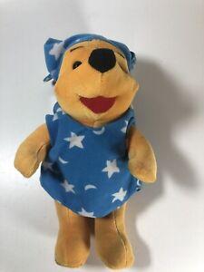 RARE Vintage 1994 Winnie The Pooh Bear Pajamas Disney Mattel Plush Toy - USA