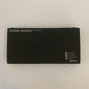 "Casio BOSS SF-8000 64KB PDA Business Organizer Scheduling System ""Read"""