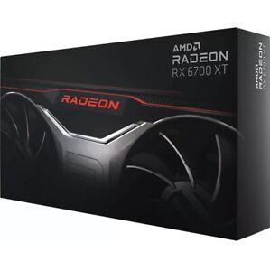AMD Radeon RX 6700 XT GDDR6 12GB 4K Grafikkarte GPU Graphics Gaming Neu/OVP