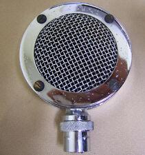 "Vintage Astatic D-104 ""Lollipop"" Microphone Head 3-Pin w/ MC-320 Element CB HAM"