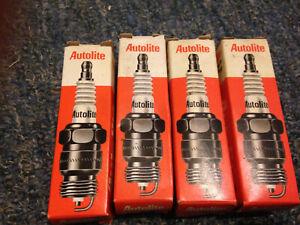4 Spark Plug-Copper Resistor Autolite 388