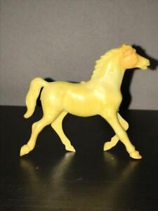 MPC Western Horse Butterscotch Plastic 1960s  54mm