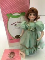 Paradise Galleries Doll Shannon the Shamrock Fairy In original Box COA