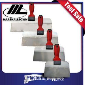 """Marshalltown Taping Knife Combo Stainless Steel 14"""" - 8"""""""