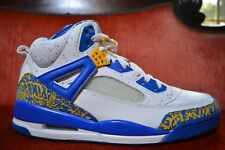 best value 93900 059d7 07 Nike Air Jordan SPIZIKE DTRT DO THE RIGHT THING WHITE RED GOLD ARGON BLUE  11